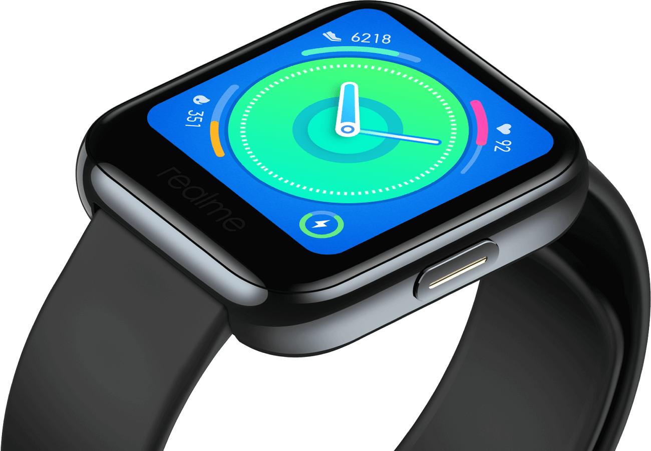 Realme Watch : la marque lance sa première montre connectée… à prix cassé