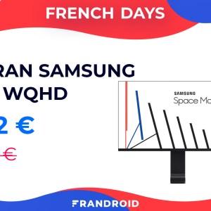 Belle baisse de prix pour l'écran Samsung Space Monitor 27″ lors des French Days