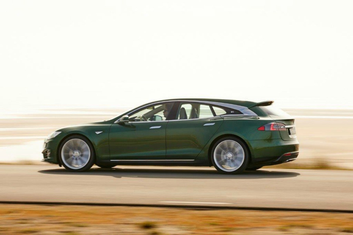 Avis aux collectionneurs : cette unique Tesla Model S Shooting Brake veut trouver preneur