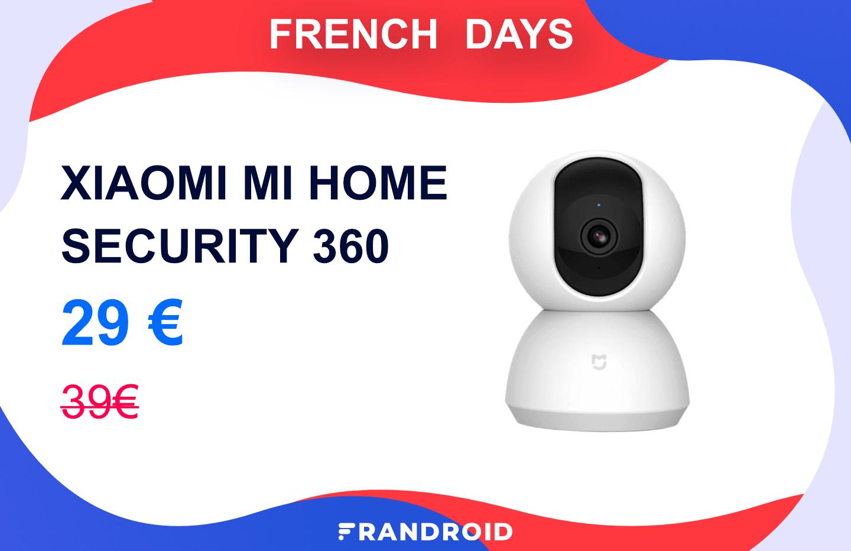 La caméra Xiaomi Mi Home Security 360° est à -25 % durant les French Days