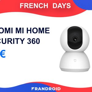 La caméra Xiaomi Mi Home Security 360° est à -25 % durant les French Days