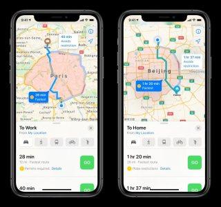 Apple Plans devient enfin un concurrent sérieux de Google Maps