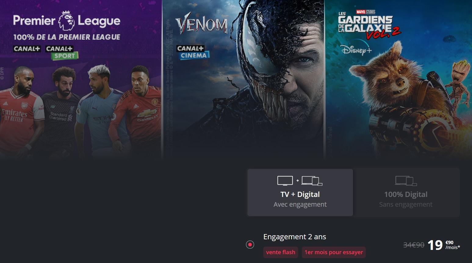 Canal+ lance une vente flash inratable sur ses abonnements incluant Disney+