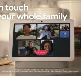 Smart Display : Google permet enfin les réunions virtuelles en famille