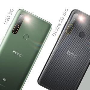 HTC Desire 20 Pro et U20 5G tout juste annoncés et dépourvus de la saveur d'antan