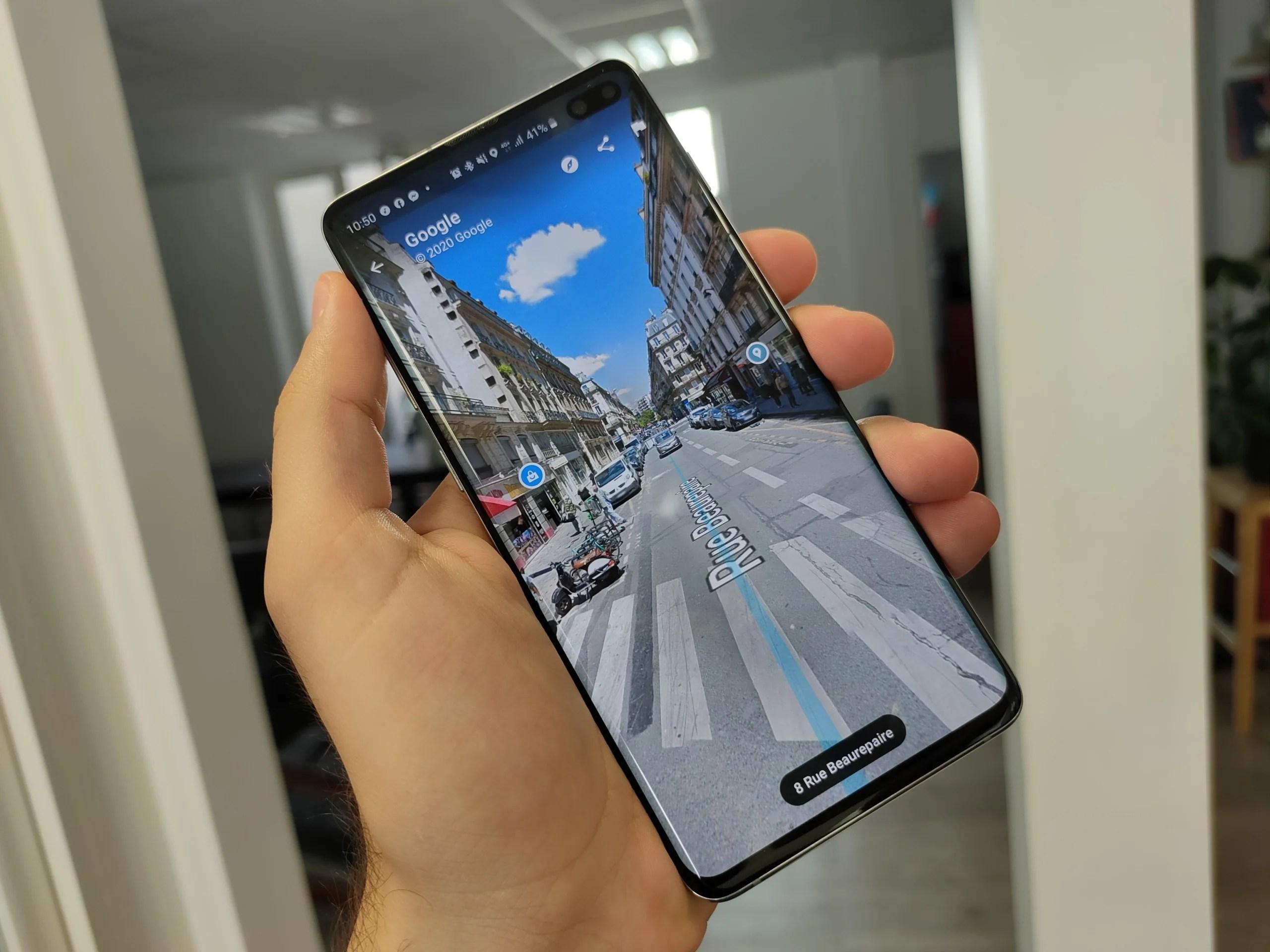 Google Maps : l'interface de Street View exploite mieux l'écran sur Android