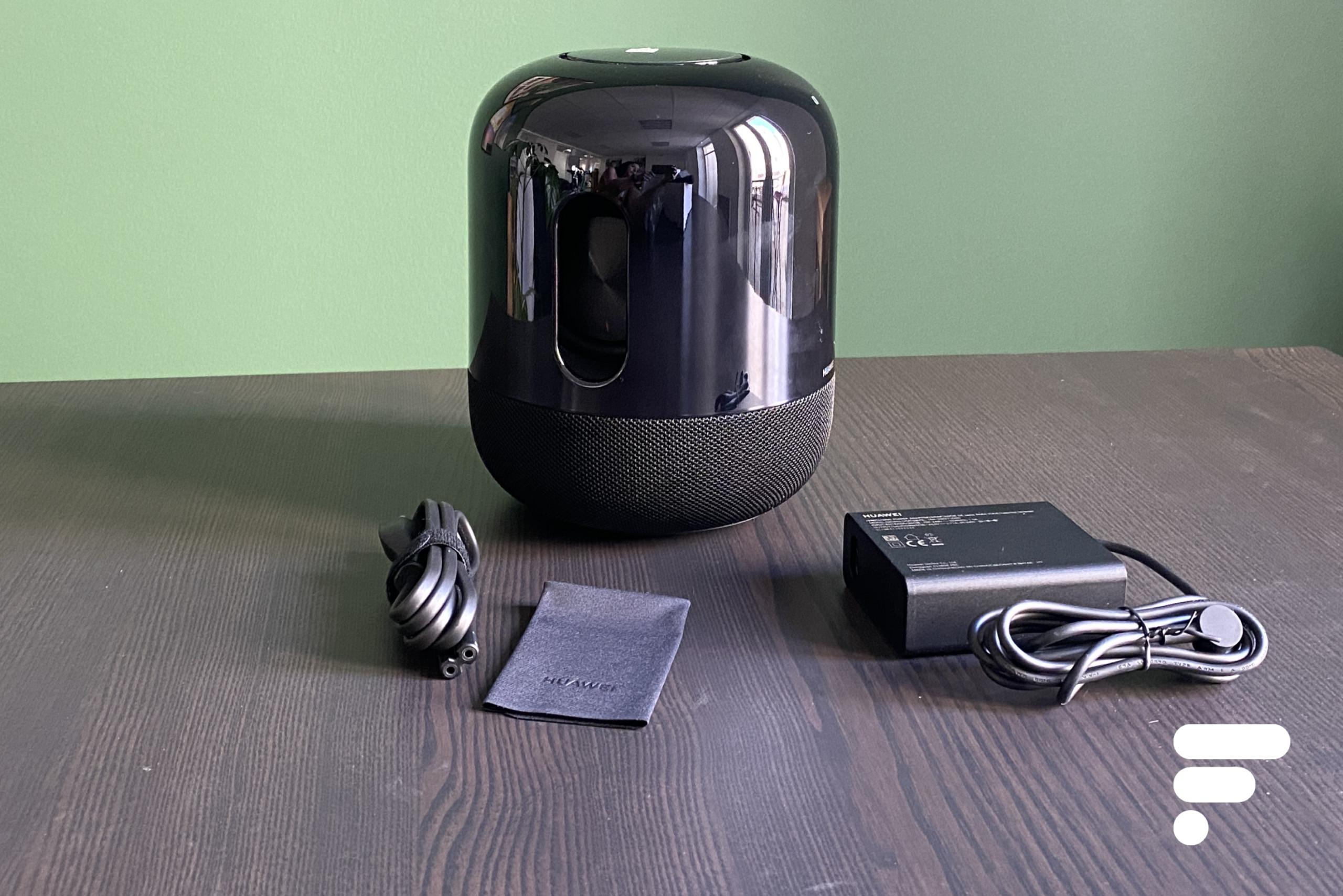 Prise en main de la Huawei Sound X, l'enceinte connectée conçue avec Devialet