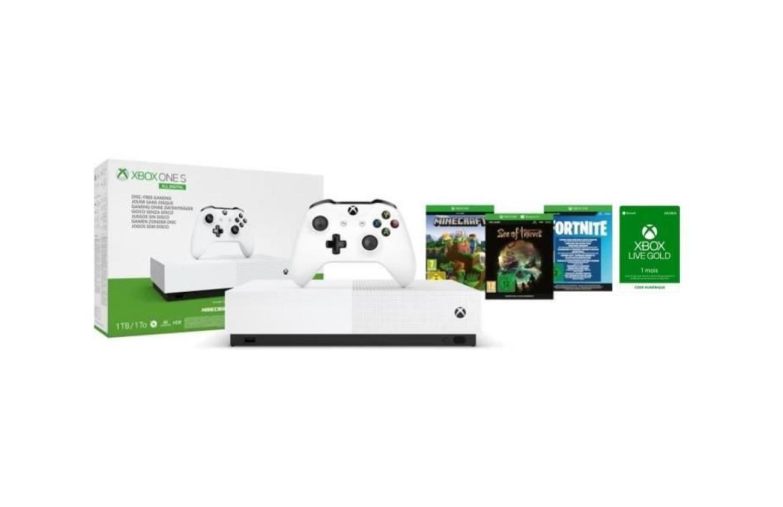 Belle baisse de prix pour la Xbox One S All Digital qui accueillera les premiers jeux Series X