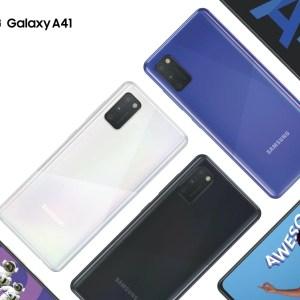 Samsung Galaxy A41 : un nouveau smartphone petit, mais costaud (et pas cher)