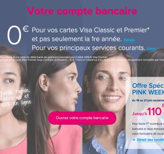 Boursorama Banque : jusqu'à 110 euros offerts pour l'ouverture d'un compte
