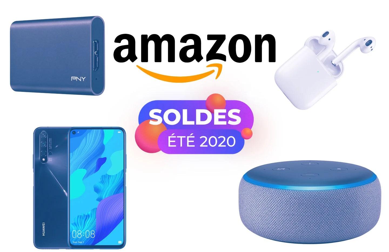 Soldes Amazon : notre sélection des meilleurs offres tech