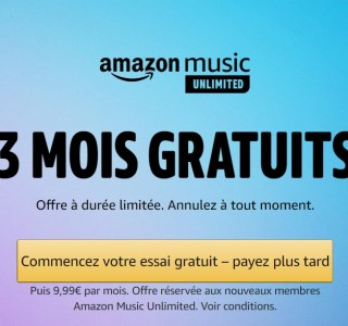 Ce n'est ni Spotify ni Deezer, mais ce service offre 3 mois de musique gratuite