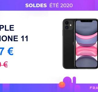 L'iPhone11 passe pour la première fois sous les 600€ grâce aux soldes