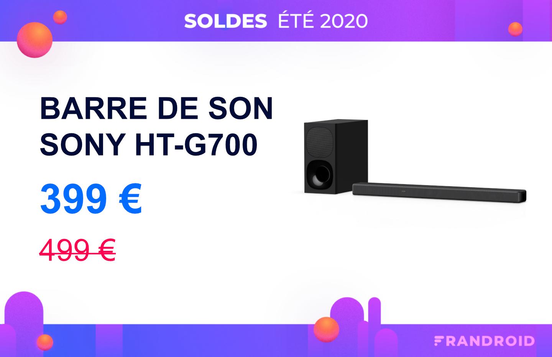 Une bonne barre de son à moins de 400 euros ? Oui, ça existe (Sony HT-G700)