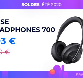 Le Bose Headphones 700 a attendu les soldes pour enfin passer sous les 300 €