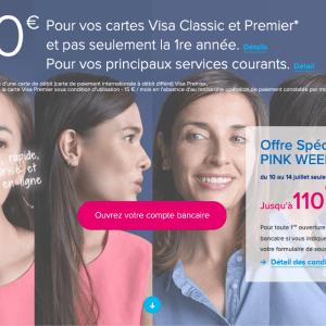 Banque en ligne : Boursorama Banque renouvelle sa prime de 110 euros