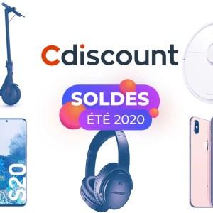 Cdiscount : les meilleures offres des soldes, du Galaxy S20 à la Xiaomi M365 Pro