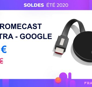 Profitez d'une remise inédite de 25 € sur le Google Chromecast Ultra