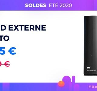 Ce disque dur externe 10 To est à seulement 185 € pour les soldes sur Amazon