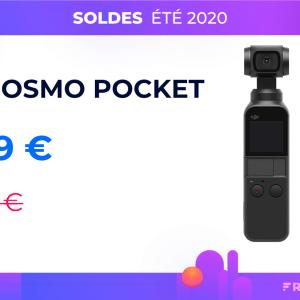 L'excellente caméra DJI Osmo Pocket est à son prix le plus bas pour les soldes