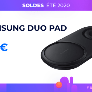 Le chargeur sans fil duo de Samsung profite de 60 % de réduction sur Amazon