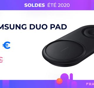 Le chargeur sans fil duo de Samsung profite de 60 % de réduction sur Amazon