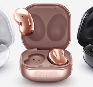 Galaxy Buds Live : les nouveaux écouteurs de Samsung fuitent en 3 coloris