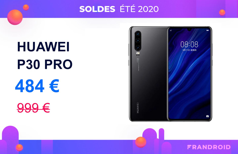 Huawei P30 Pro : cet excellent smartphone est à 484 € pour les soldes