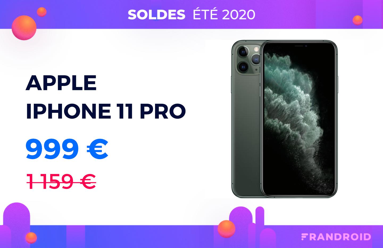Fnac et Darty veulent liquider leur stock d'iPhone11 Pro avec cette offre