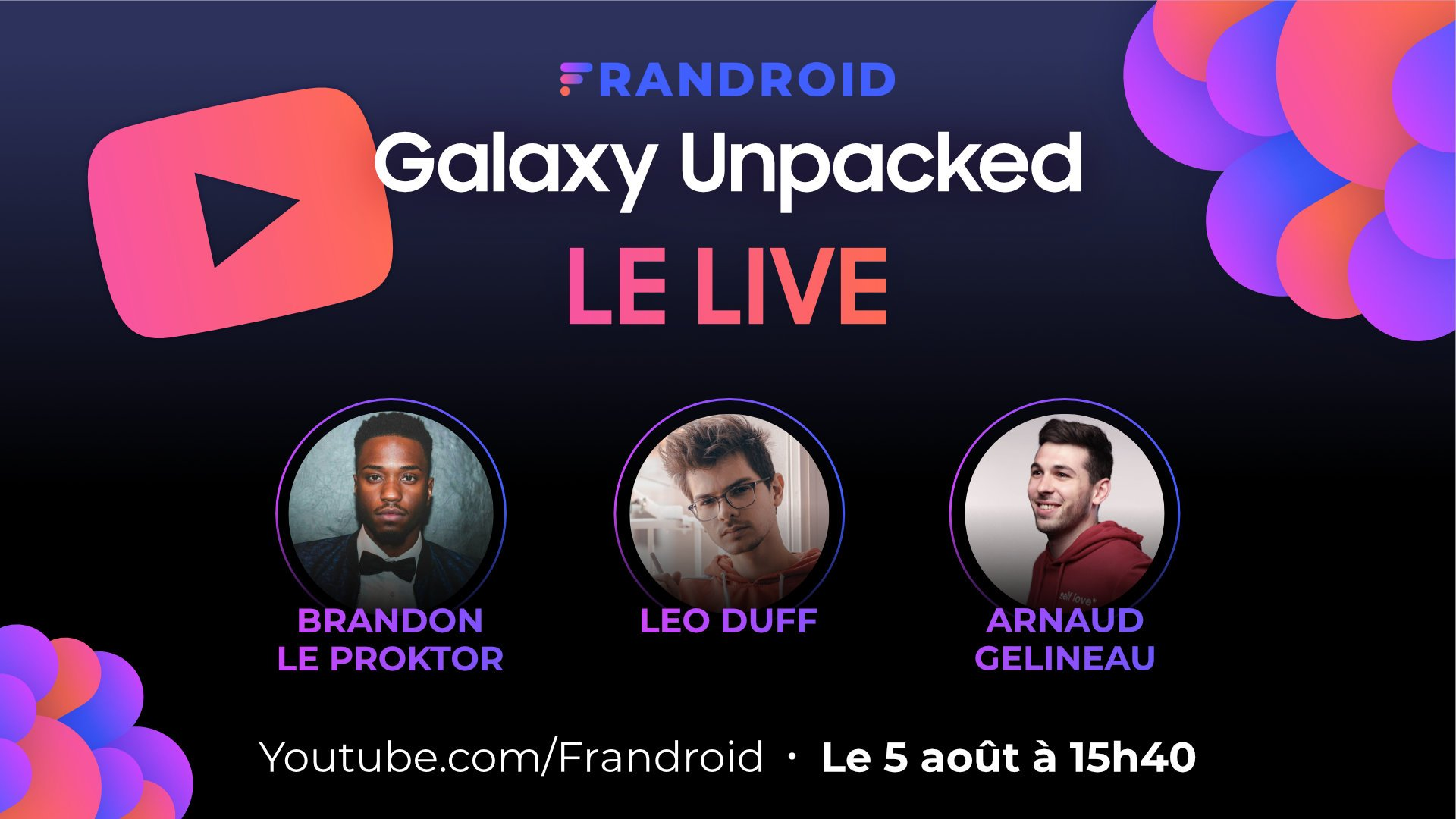 Galaxy Unpacked : suivez la conférence commentée en français par des experts de la tech