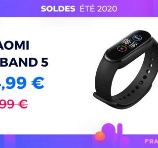 Le Xiaomi Mi Band 5 est 15 € moins cher pour les soldes chez Darty