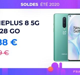 Préparez-vous pour la 5G avec le OnePlus 8 à moins de 490 euros