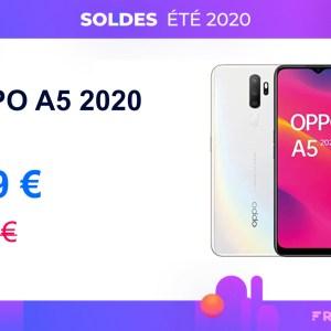 Pour concurrencer Xiaomi, l'Oppo A5 2020 est à tout petit prix pour les soldes