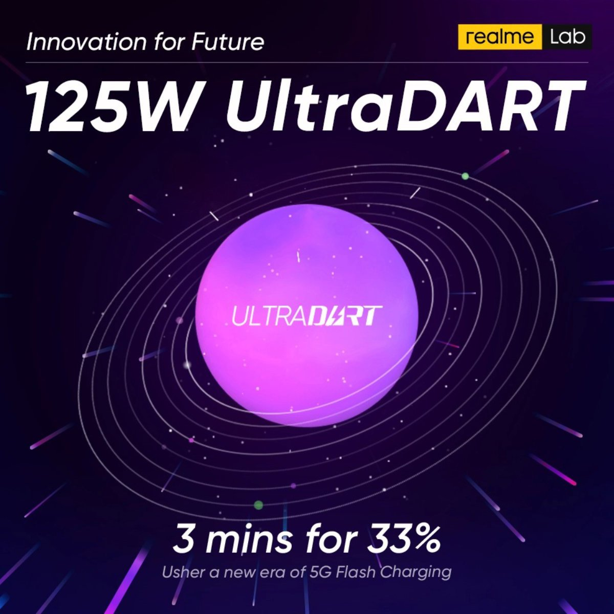Realme passe aussi au 125 W avec sa charge rapide UltraDART