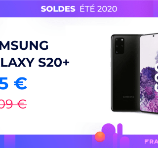 Le prix du Samsung Galaxy S20 Plus chute à 615 € grâce à ce code promo