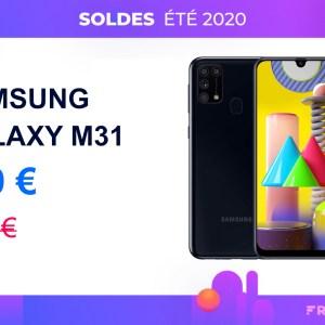 Amazon baisse déjà le prix du surprenant Samsung Galaxy M31 pour les soldes