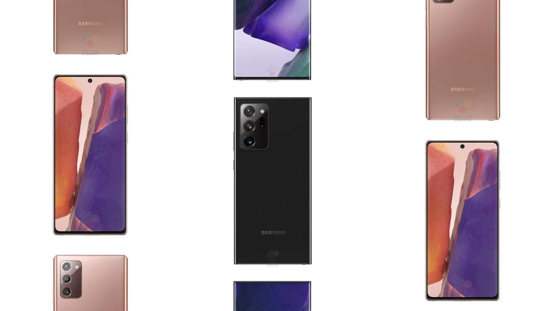Samsung Galaxy Note20 et Note20 Ultra: design, caractéristiques, date, prix et tout ce que l'on sait