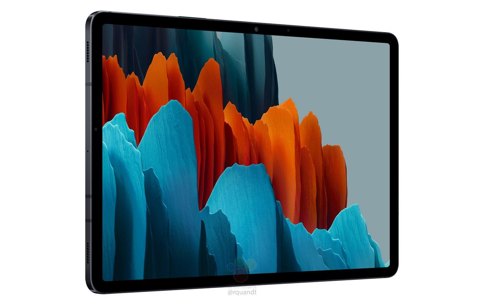 Samsung Galaxy TabS7 et S7 Plus: fuite du design et des caractéristiques