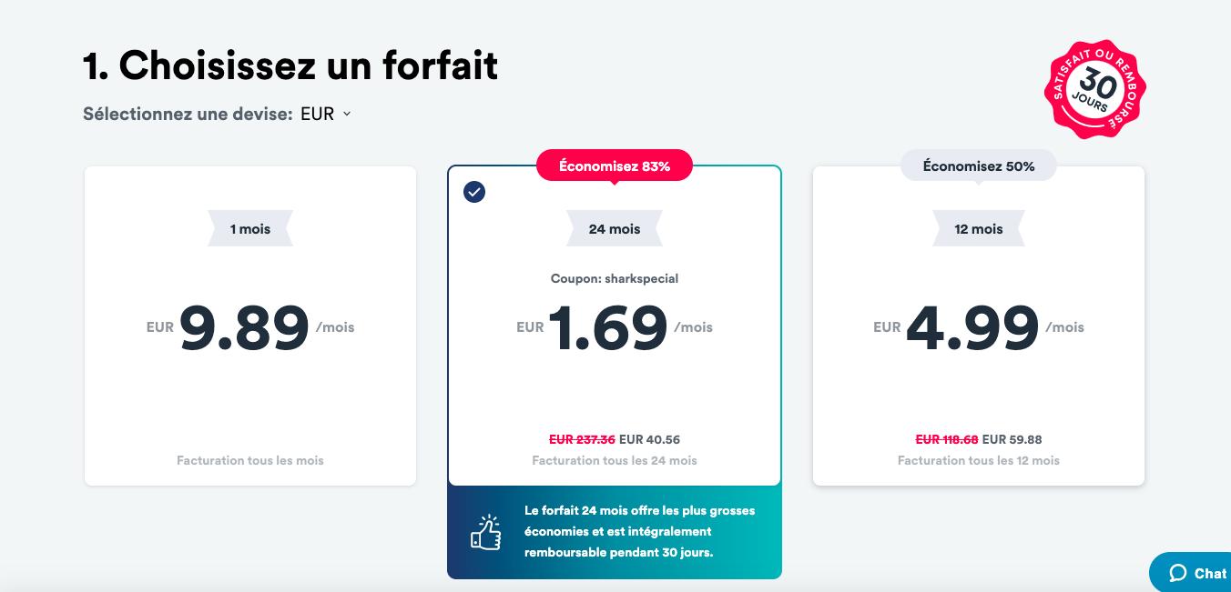 Cette offre VPN de Surfshark est imbattable : 24 mois pour 40 €, soit 1,69 €/mois