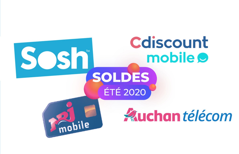 Forfait mobile : les meilleures offres sans engagement des Soldes 2020