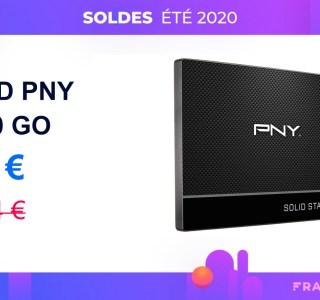 Encore une baisse de prix pour le SSD PNY 960 Go sur Amazon