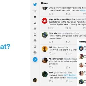 Twitter revoit son interface en facilitant l'accès à vos messages privés