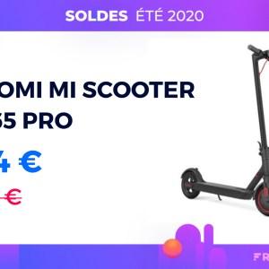 M365 Pro: la trottinette électrique de Xiaomi 100€ moins cher pour les soldes