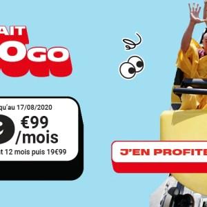 Ce forfait mobile 100 Go passe à moins de 10 euros par mois pendant un an