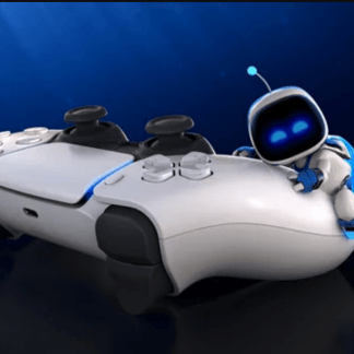PS5: the DualSense joystick,