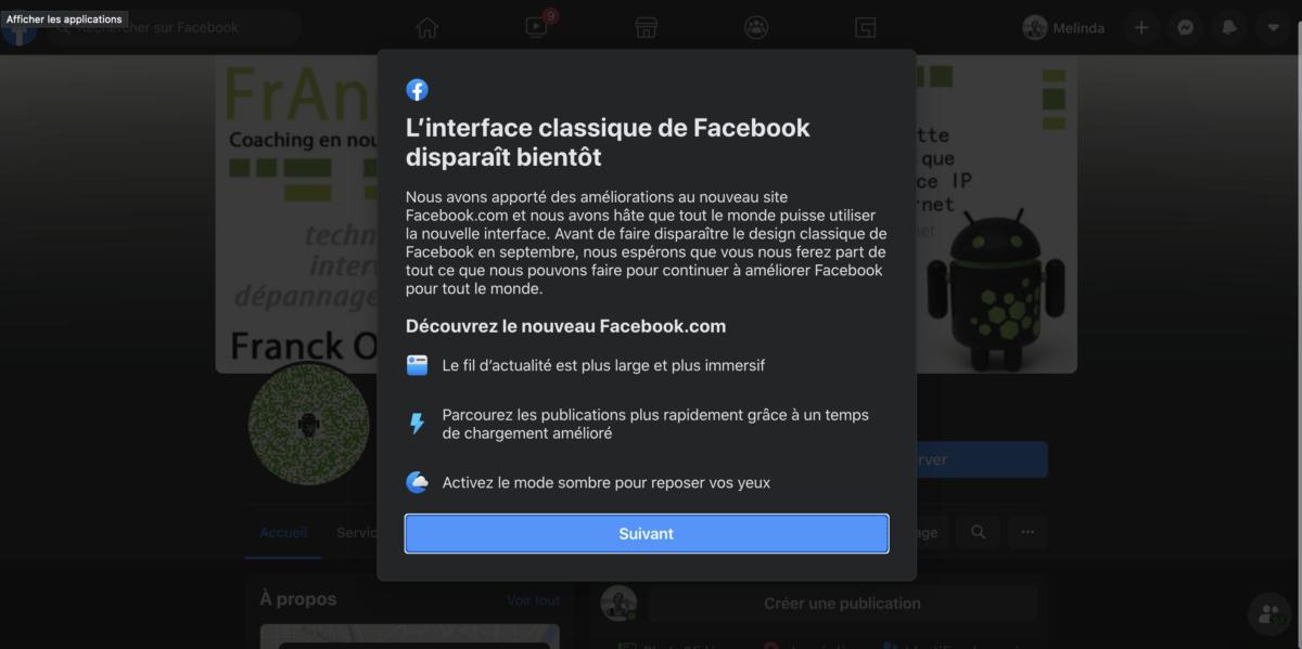 Le nouveau Facebook arrive en septembre et vous n'aurez pas le choix