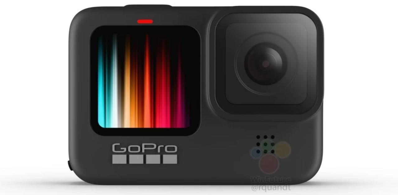 La GoPro Hero 9 Black aurait enfin droit à un écran couleur à l'avant