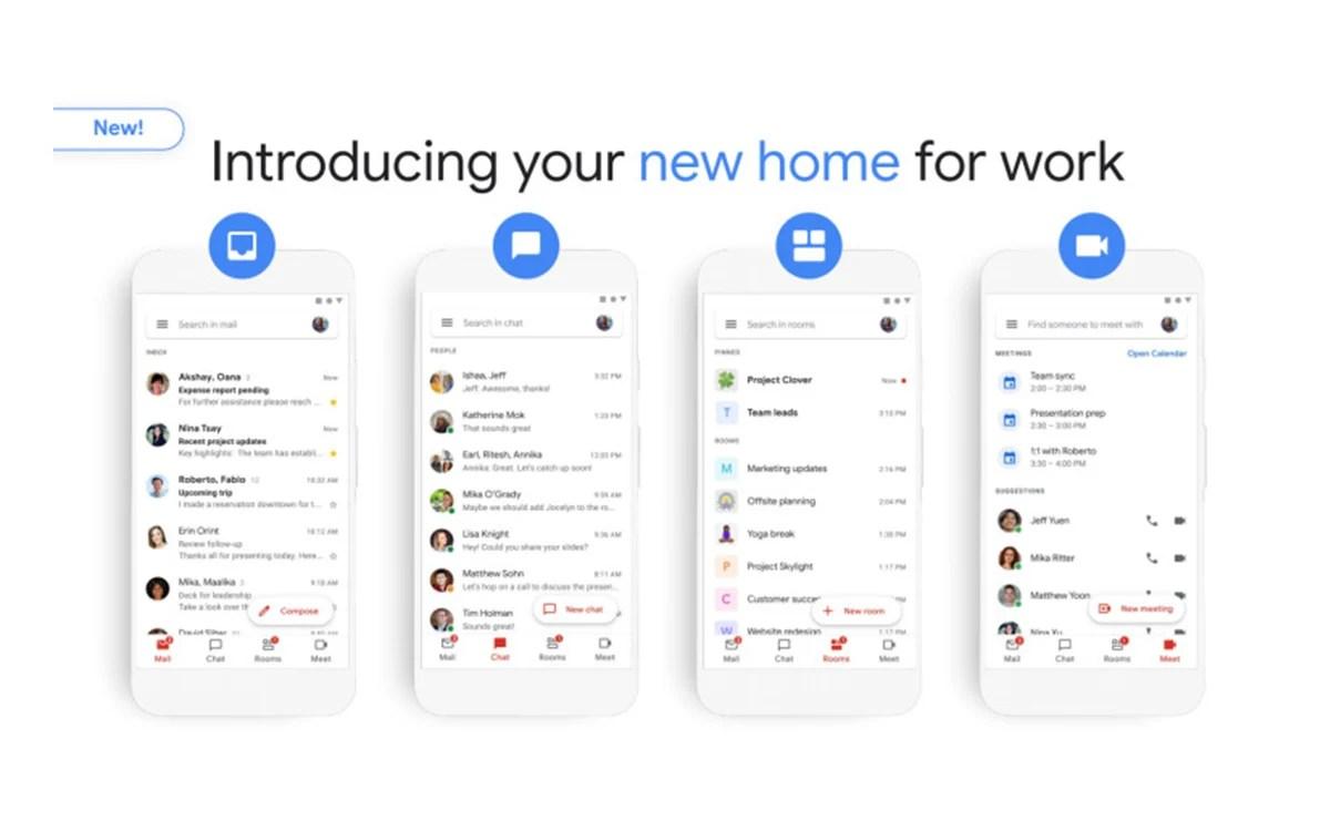 Gmail : la nouvelle interface à quatre rubriques commence à se déployer