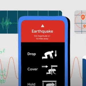 Google : les smartphones Android vont devenir des détecteurs de séismes collaboratifs