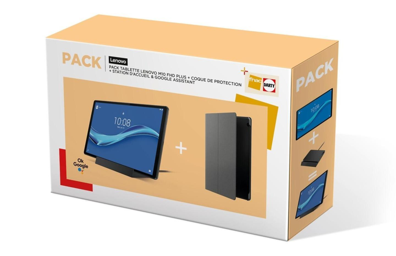 Ce pack avec la tablette Lenovo M10 Plus coûte 60 € moins cher aujourd'hui